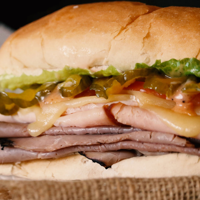 Roast Beef & Turkey Sandwich