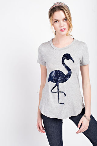 XL FLAMINGO T-SHIRT - 12A2061