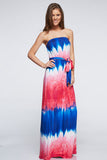 DIP-DYED MAXI DRESS - 12D7926