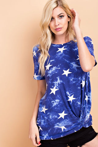 STAR KNOTTED TOP - 143TK7074