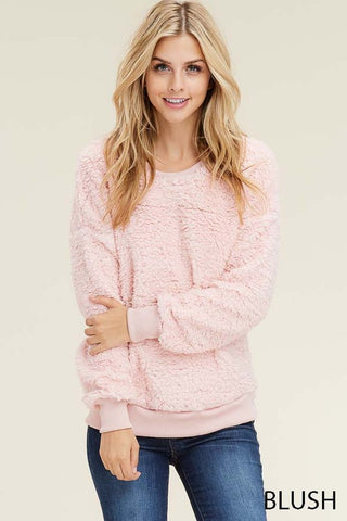 TAYA - FLEECE PULLOVER