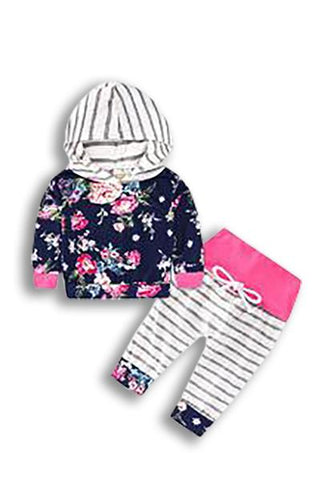 LAUREN - INFANT HOODIE SET