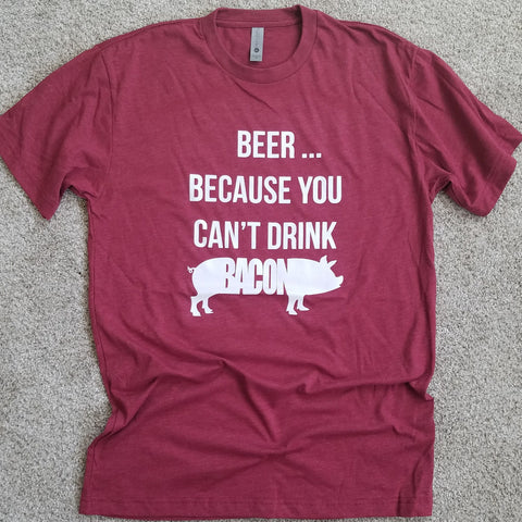 Beer and Bacon Tee