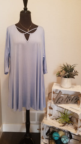 A LINE DRESS 3/4 SLEEVE - UMA3089