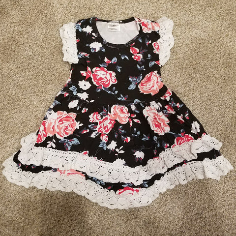 GIRLS LACE & ROSE DRESS - HD317115