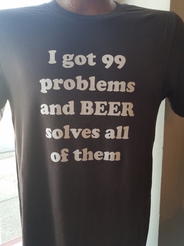 99 problems - graphic tee