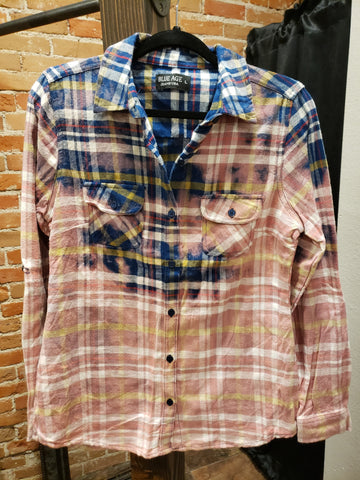 DEJA - DISTRESSED FLANNEL