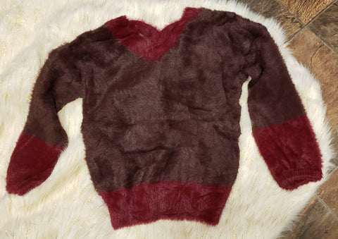 NOOR - DISTRESSED SWEATER