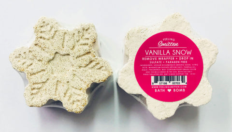 Snowflake Bath Bomb Limited Edition