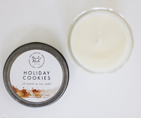 Baitx Made - Holiday Cookies Candle, 4oz