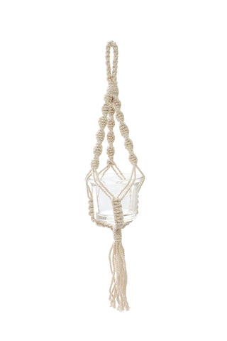 "Soul of the Party - 12"" Macrame Plant Hanger"
