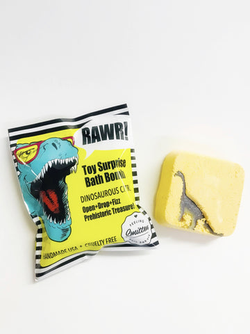 Dinosaurous Citrus Surprise Bath Bomb Bags