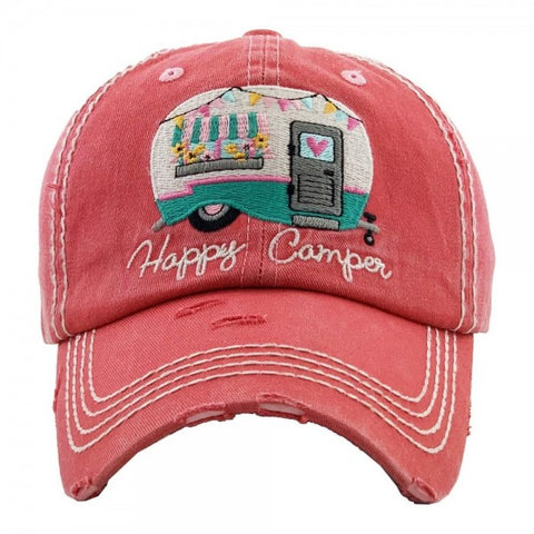 JUD8 - HAPPY CAMPER CAP