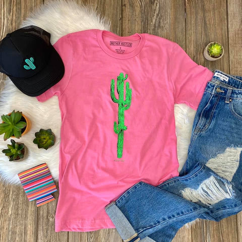 CACTUS STAND TALL - GRAPHIC TEE