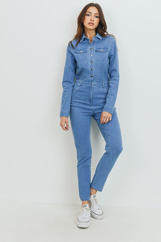 CEST - DENIM JUMPSUIT