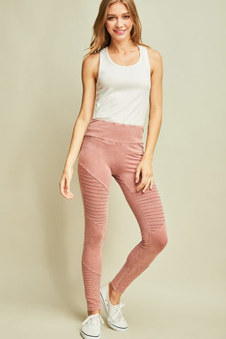 ACID WASH LEGGING PANT - ENP9247