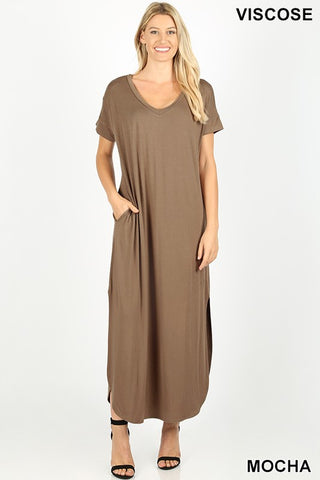 FAITH - VNECK MAXI DRESS