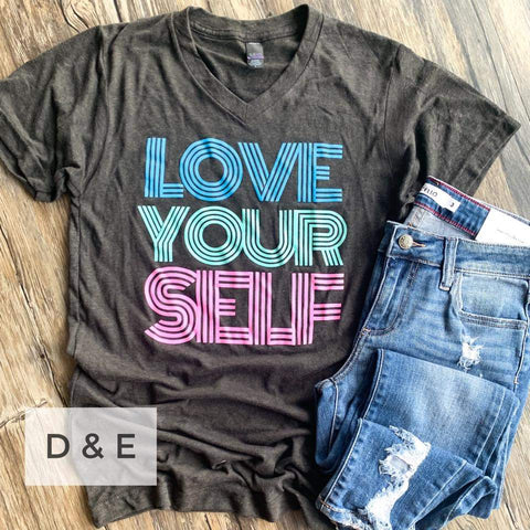 LOVE YOUR SELF - GRAPHIC TEE