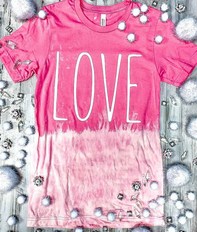 LOVE - OMBRE GRAPHIC TEE