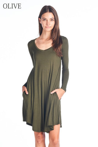 FEBE - VNECK DRESS