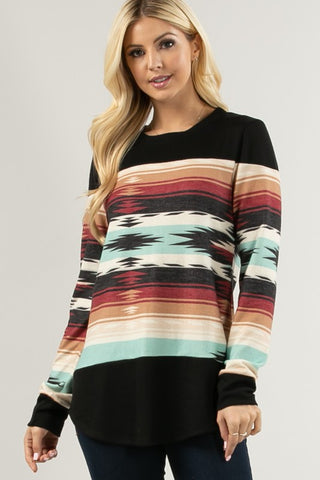 INDY - AZTEC TOP