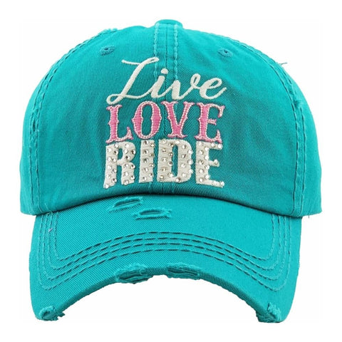 JUD40 - LIVE LOVE RIDE CAP