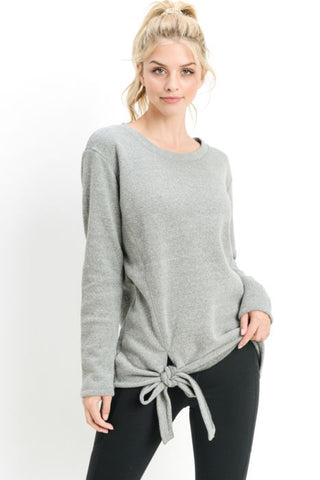 LUCY - GREY SWEATSHIRT