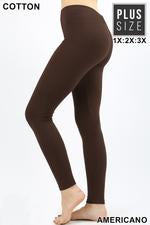 COTTON LEGGINGS PLUS - ZEOP-1851XP