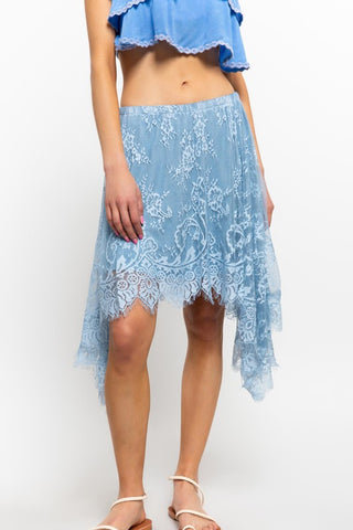 POL22 - LACE SKIRT/TOP