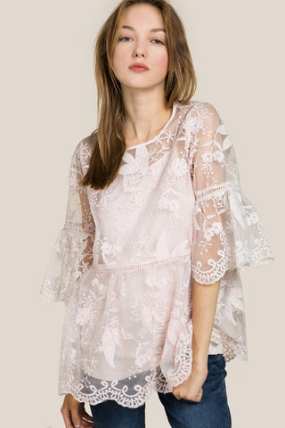 POL24 - LACE TOP