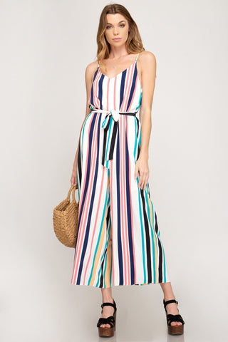 SS104 - STRIPED JUMPSUIT