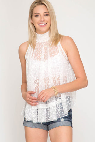 SS110 - LACE SWING TOP