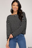 SS121 - STRIPED SWEATER