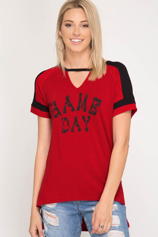 GAME DAY TEE - SSSL6439