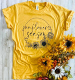 SUNFLOWER SEASON - GRAPHIC TEE