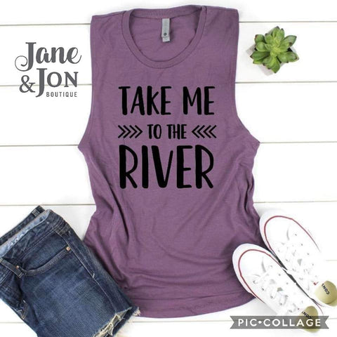 TAKE ME TO THE RIVER - Graphic Tank