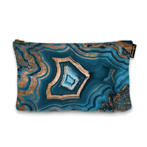 'Dreaming About You Geode' Pouch (Size 9x6)