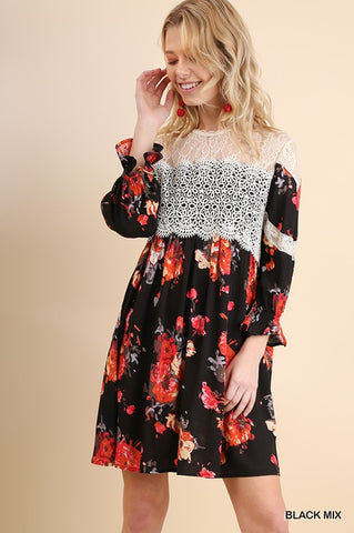 ARLY - FLORAL DRESS
