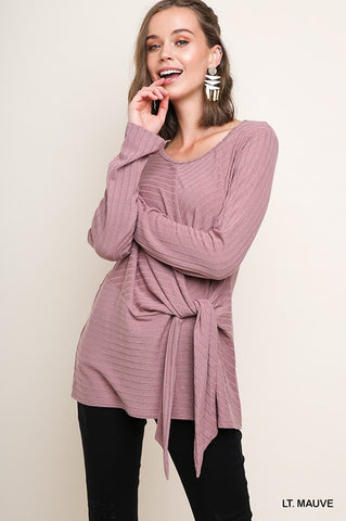 EFFA - L/S KNOT TOP