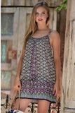 NAN - BOHO SHIFT DRESS