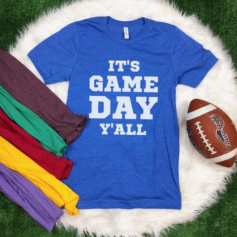 GAME DAY Y'ALL - GRAPHIC TEE