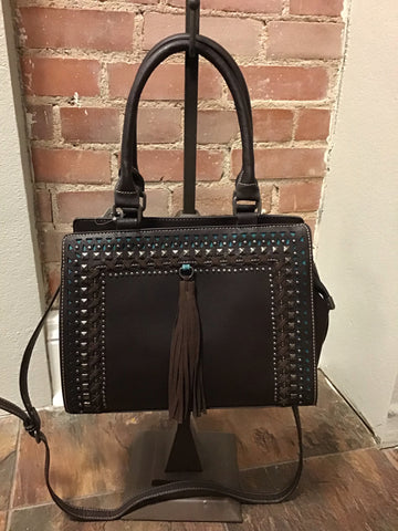 IRA - BROWN CROSS BODY BAG
