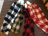BUFFALO CHECK SCARF - SM8628