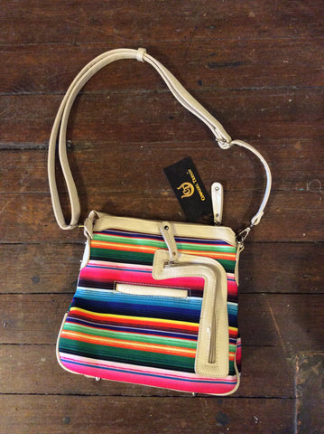 CACTUS STRIPE CROSSBODY - CCBAG