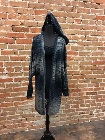 NORA - OMBRE SWEATER CARDIGAN