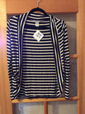 Allison - Striped Cardigan