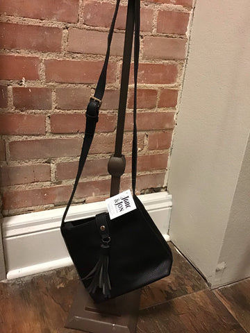 ZOYA - BLACK CROSS BODY BAG