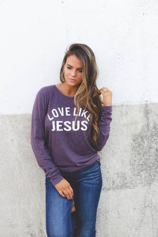 LOVE LIKE JESUS - LONG SLEEVE TEE