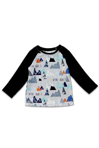 BOYS MOUNTAIN TEE