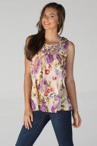 NEVE - SLEEVE FLORAL TOP